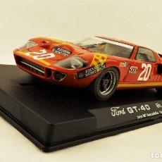 Slot Cars: SLOT FLY FORD GT 40 JARAMA 1969. Lote 198740303