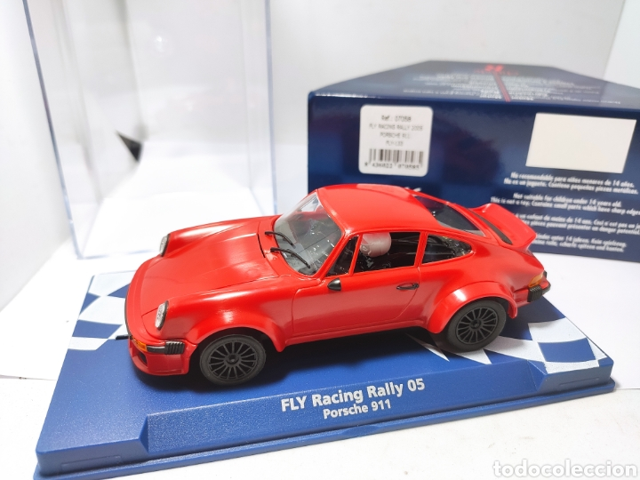FLY RACING PORSCHE 911 RALLY 2005 REF. 07058 ROJO (Juguetes - Slot Cars - Fly)
