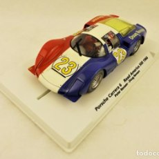 Slot Cars: FLY. PORSCHE CARRERA 6 ROAD AMERICA 500 1966 ED. LIMITADA. Lote 198991763
