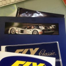 Slot Cars: FLY 1999 FOLLETOS Y DOCUMENTOS CON EXTRAS. Lote 199038535