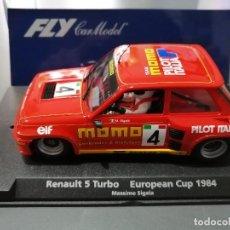 Slot Cars: 88188 - RENAULT 5 TURBO MOMO DE FLY. Lote 236011190