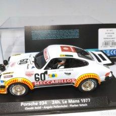 Slot Cars: FLY PORSCHE 934 24H LE MANS 1977 REF. 88291. Lote 203263655