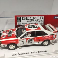 Slot Cars: FLY AUDI QUATTRO A2 LIMITED EDITION BECKER AUTORADIO REF. 99044. Lote 203264848