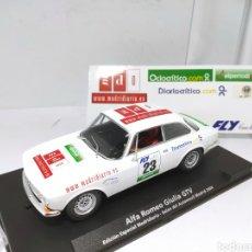 Slot Cars: FLY ALFA ROMEO GIULIA GTV EDICIÓN ESPECIAL MADRIDIARIO. Lote 203267098