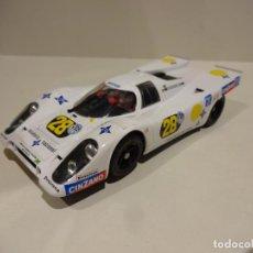 Slot Cars: FLY. PORSCHE 917 K ESCUDERIA NACIONAL. Lote 203526353