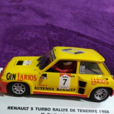Slot Cars: RENAULT 5 TURBO.. Lote 203924023