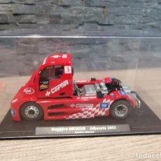 Slot Cars: COCHE CAMIÓN SLOT FLY BUGGYRA MK002/B ANTONIO ALBACETE 2003, SCALEXTRIC. Lote 204319896