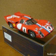 Slot Cars: FLY LOLA T70 LE MANS 1970 REF C34 NUEVO CON SU CAJA ORIGINAL. Lote 205446758