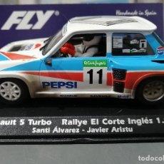 Slot Cars: RENAULT 5 TURBO Nº11 PEPSI EFECTO SUCIO DE FLY. Lote 205581500