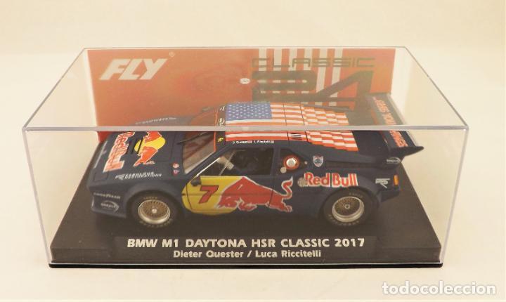 Slot Cars: Fly Slot BMW M1 Daytona HSR Classic 2017 Red Bull - Foto 7 - 223427485