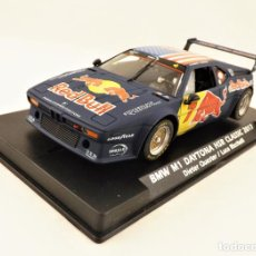 Slot Cars: FLY SLOT BMW M1 DAYTONA HSR CLASSIC 2017 RED BULL. Lote 223427485