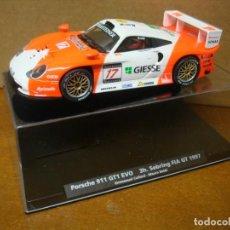 Slot Cars: FLY PORSCHE 911 GT1 EVO REF 88164 NUEVO CON SU CAJA ORIGINAL. Lote 205856253
