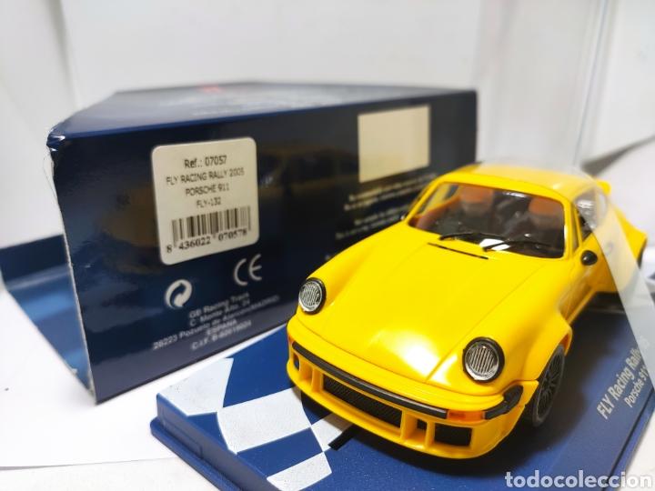 Slot Cars: FLY RACING RALLY 2005 PORSCHE 911 AMARILLO REF. 07057 - Foto 2 - 206301810