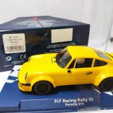 Slot Cars: FLY RACING RALLY 2005 PORSCHE 911 AMARILLO REF. 07057. Lote 206301810