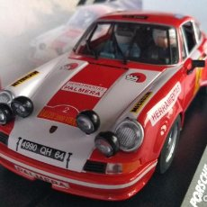 Slot Cars: FLY PORSCHE 911 RALLY 2000 VIRAJES 1974, PALMERA, FORO SLOT 2020,150 UNID. LIMPIO.VÁLIDO SCALEXTRIC. Lote 206880351