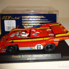 Slot Cars: FLY. PORSCHE 917/10. INTERSERIE 1973. REF. A-161. Lote 207032263