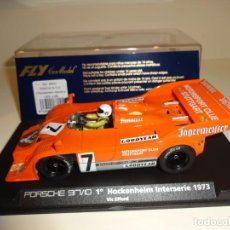 Slot Cars: FLY. PORSCHE 917/10. 1º HOCKENHEIM INTERSERIE 1973. REF. A-168. Lote 207032727