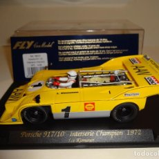 Slot Cars: FLY. PORSCHE 917/10. INTERSERIE CHAMPION 1972. REF. A-166. Lote 207032801