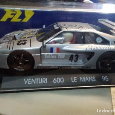Slot Cars: FLY VENTURI 600 LE MANS 95 REFERENCIA: A12. Lote 207168875