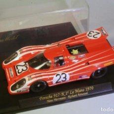 Slot Cars: FLY. PORSCHE 917K 1º LEMANS 1970 #23 HERRMANN-ATWOOD.. Lote 208339940