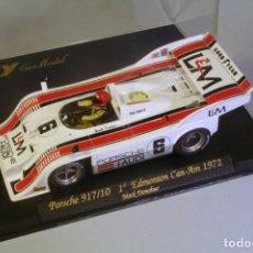 Slot Cars: FLY. PORSCHE 917/10 #6 1º EDMONTON CAN-AM 1972 DONOHUE. Lote 208359825