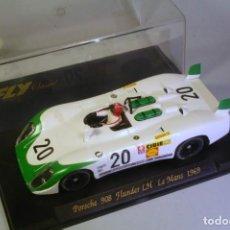 Slot Cars: FLY PORSCHE 908 FLUNDER LH LE MANS 1969 #20 SIFFERT-REDMAN. Lote 208360288