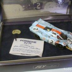 Slot Cars: FLY. PORSCHE 917K 4º SEBRING 1971 #2 RODRIGUEZ-OLIVER ACCIDENTADO. Lote 208445393
