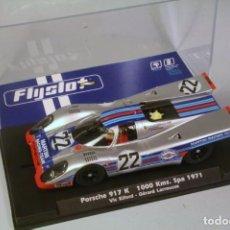 Slot Cars: FLY. PORSCHE 917K 1000KM SPA 1971 #22 ELFORD-LARROUSE. Lote 208474191