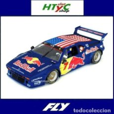Slot Cars: FLY SOLO 400 UNIDADES BMW M1 #7 DAYTONA HSR CLASSIC 2017 RED BULL QUESTER / RICCITELLI A2010. Lote 210552410