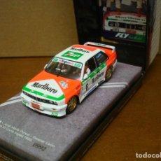 Slot Cars: FLY BMW M3 E30 J.M. PONCE REF 99071 NUEVO CON SU CAJA ORIGINAL. Lote 210602515