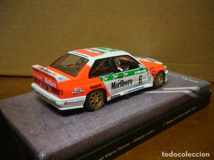 Slot Cars: FLY BMW M3 E30 J.M. PONCE REF 99071 NUEVO CON SU CAJA ORIGINAL - Foto 3 - 210602515