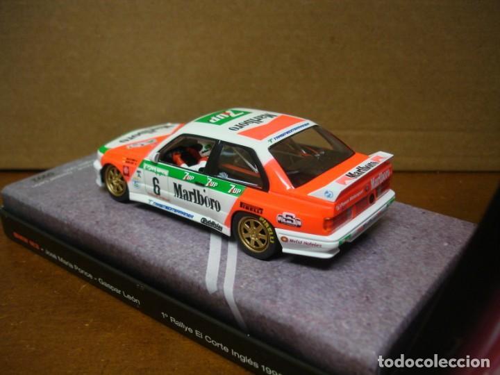 Slot Cars: FLY BMW M3 E30 J.M. PONCE REF 99071 NUEVO CON SU CAJA ORIGINAL - Foto 4 - 210602515