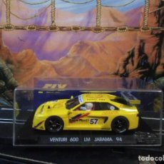 Slot Cars: COCHE FLY MODELO VENTURI 600 LM JARAMA 1994. Lote 210612460