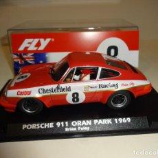 Slot Cars: FLY. PORSCHE 911 ORAN PARK 1969. BRIAN FOLEY. REF. A2017. NOVEDAD!. Lote 210970164