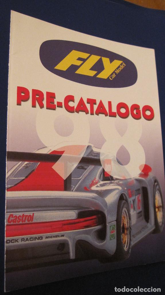 FLY CAR MODEL ORIGINAL: PRECATALOGO COCHES FABRICADOS Y NOVEDADES 1998. DIPTICO MUY DIFICIL (Juguetes - Slot Cars - Fly)