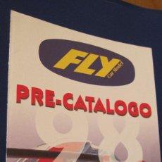 Slot Cars: FLY CAR MODEL ORIGINAL: PRECATALOGO COCHES FABRICADOS Y NOVEDADES 1998. DIPTICO MUY DIFICIL. Lote 211648051