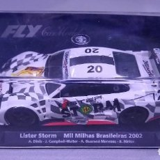 Slot Cars: LISTER STORM MIL MIHAS FLY SCALEXTRIC. Lote 211656774