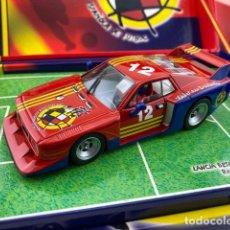 Slot Cars: LANCIA BETA MONTECARLO SELECCIÓN ESPAÑOLA DE FLY. Lote 211770652