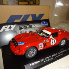 Slot Cars: FLY. FERRARI 250 GTO. IV RALLY DE GERONA 1968. BATURONE/PALOMO. REF. A2018. Lote 212393111