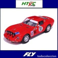 Slot Cars: FLY FERRARI 250 GTO #81 IV RALLY GERONA 1968 BATURONE / PALOMO A2019. Lote 212200263