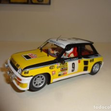 Slot Cars: FLY. RENAULT 5 TURBO. 1º RALLY MONTECARLO 1981. RAGNOTTI-ANDRIE. REF. A-1201. Lote 214130157