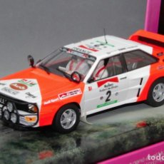 Slot Cars: AUDI QUATTRO MICHELLE MOUTON EDICIÓN LIMITADA LADY RACER (FLY CAR MODEL). Lote 215743602
