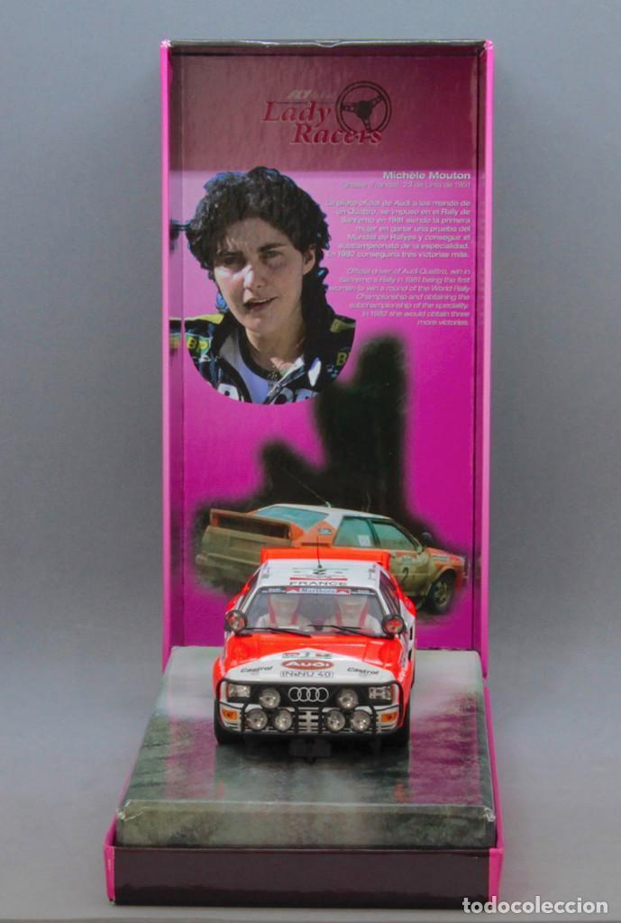 Slot Cars: Audi Quattro Michelle Mouton Edición Limitada Lady Racer (Fly Car Model) - Foto 3 - 215743602