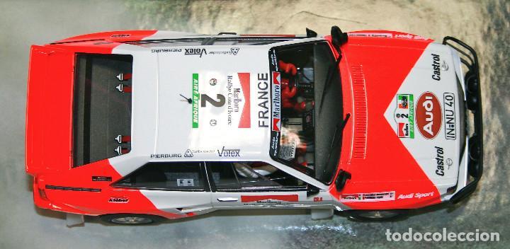 Slot Cars: Audi Quattro Michelle Mouton Edición Limitada Lady Racer (Fly Car Model) - Foto 7 - 215743602