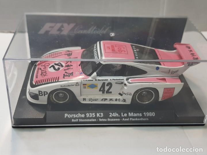 COCHE SLOT FLY PORSCHE 935 K3 24H LE MANS 1980 EN BLISTER ORIGINAL (Juguetes - Slot Cars - Fly)