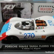 Slot Cars: E2025 - PORSCHE 908/02 Nº270 TARGA FLORIO 1969 DE FLY. Lote 217996423