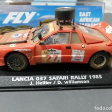 Slot Cars: LANCIA 037 SAFARI RALLY 1985 EDICION ESPECIAL EFECTO SUCIO DE FLY. Lote 218086481