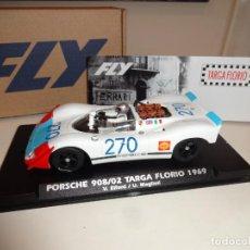 Slot Cars: FLY. PORSCHE 908/02. TARGA FLORIO 1969. ELFORD - MAGLIOLI. REF. E2025. Lote 218137927