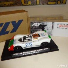 Slot Cars: FLY. PORSCHE 908/02. TARGA FLORIO 1969. KAUHSEN - VON WENDT. REF. E2026. Lote 218138060