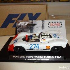 Slot Cars: FLY. PORSCHE 908/02. TARGA FLORIO 1969. STOMMELEN - HERRMANN. REF. E2027. Lote 218138173